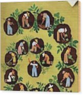 Gardeners And Farmers Wood Print
