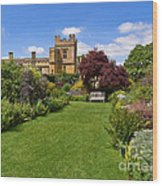 Gardens Of Sudeley Castle In The Cotswolds Wood Print