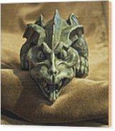Gargoyle Or Grotesque Wood Print