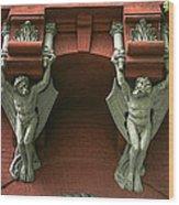 Gargoyles Wood Print