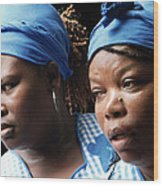 Garifuna Ladies Wood Print
