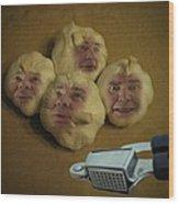 Garlic Heads  Wood Print