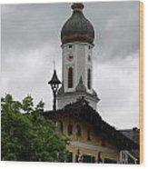 Garmisch Partenkirchen  Wood Print