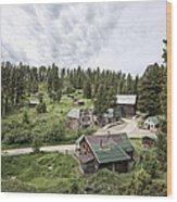 Garnet Ghost Town - Montana Wood Print