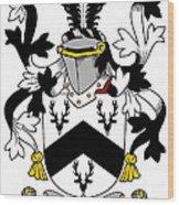 Garr Coat Of Arms Irish Wood Print