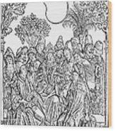 Gart Der Gesuntheit, 1485 Wood Print