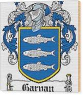 Garvan Coat Of Arms Irish Wood Print