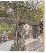 Garvan Garden Bridge Wood Print