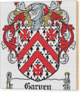 Garvey Coat Of Arms Down Ireland Wood Print