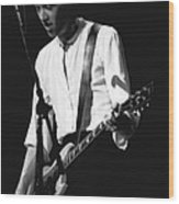 Gary Pihl On Guitar Wood Print
