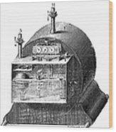 Gas Meter Wood Print