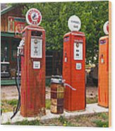 Gas Museum Embudo New Mexico Wood Print