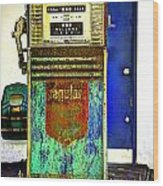 Gas Pump Wood Print