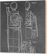 Gas Pump Patent Wood Print