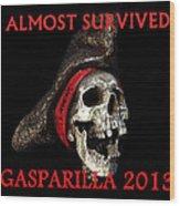 Gasparilla 2013 Postertshirt Work B Wood Print