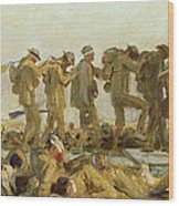 Gassed An Oil Study Art Print By John Singer Sargent