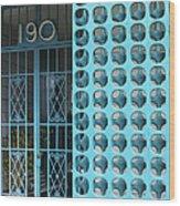 Gate 190 Palm Springs Wood Print