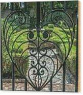 Gate Keeper Wood Print