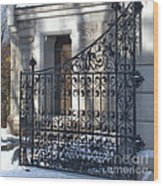 Gate To Cedar Hill Wood Print