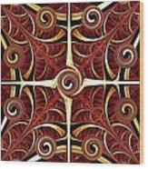 Gates Of Balance Wood Print