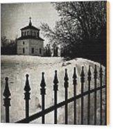 Gates Of Grace  Wood Print