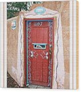 Gates Of Santa Fe 3 Wood Print