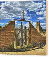Gates To Eternity Wood Print