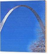Gateway Arch St Louis 03 Wood Print