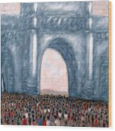 Gateway Of India Mumbai 2 Wood Print