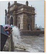 Gateway To India Wood Print