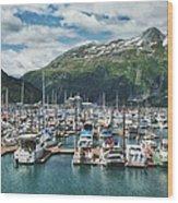 Gateway To Prince William Sound Alaska Wood Print by Kim Hojnacki
