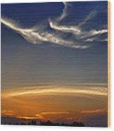 Gateway To The Heavens Wood Print