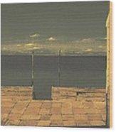 Gateway To The Sea Wood Print