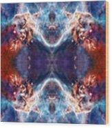 Gateway To The Universe - Carina Nebula Wood Print