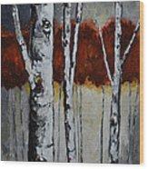 Gateway Wood Print by Vickie Warner