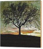 Gathering Place - No.1958 Wood Print