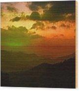 Gatsby Glow Wood Print