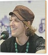 Gavin Degraw Wood Print