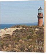Gay Head Lighthouse Wood Print