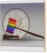 Gay Marriage Wood Print