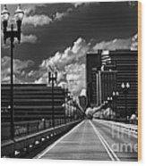Gay Street Bridge - Knoxville Wood Print