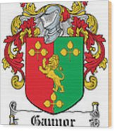 Gaynor Coat Of Arms Meath  Longford Wood Print