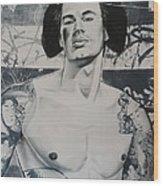 Gaysha Wood Print
