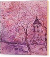 Gazebo IIi Wood Print