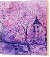 Gazebo IIII Wood Print