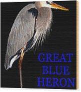 Gbh Bird Educational Work A Wood Print