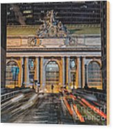 Gct From Park Ave Wood Print
