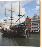 Gdynia Pirate Ship - Gdansk Wood Print