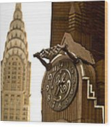 General Electric Building 1 Wood Print