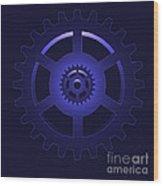Gear - Cog Wheel Wood Print by Michal Boubin